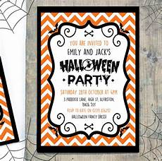 Sample Halloween Invitations Personalised Children S Halloween Party Invitations By
