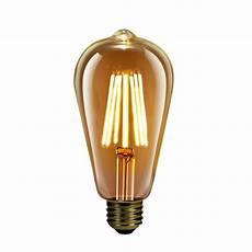 Feit Lighting Feit Electric 60 Watt Equivalent St19 Dimmable Led Amber