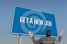 How To Get A New Job Get A New Job Against Blue Sky Stock Photo Image 49872146