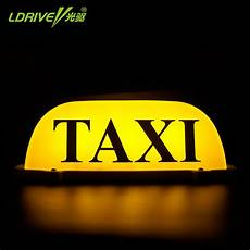Taxi Yellow Light Clip Ldrive 12v Cab Taxi Sign Led Yellow Magnet Taxi Cab Light