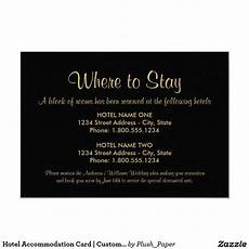 How To Word Hotel Accommodations For Wedding Invitations Black And Gold Where To Stay Wedding Accommodation