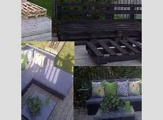 Turn Wooden Pallets into Patio Furniture   Gentlemint