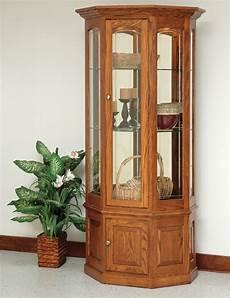 bethel small wall curio amish handcrafted curio cabinets
