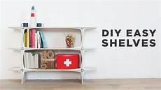 diy shelves diy easy shelves