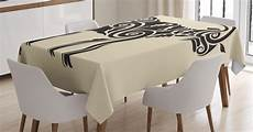 tables clothes goat goat tablecloth tribal style ornamental goat with