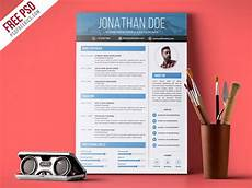 Creative Graphic Design Resume Free Psd Creative Graphic Designer Resume Psd Template