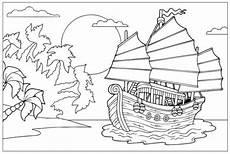 kostenlose malvorlage piraten piratenschiff zum ausmalen