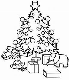 Ausmalbild Weihnachtsbaum Mit Geschenken Ausmalbilder Weihnachtsbaum