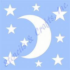 Celestial Template Moon Stencil Stars Star Celestial Template Pattern Craft