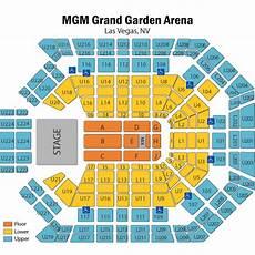 Mgm Grand Las Vegas Arena Seating Chart Mgm Grand Concert Seating Chart Concertsforthecoast