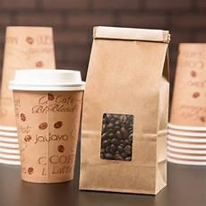 Coffee Bag 1 2 Lb Brown Kraft Customizable Tin Tie Coffee Bag With
