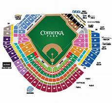 Detroit Tigers Seating Chart With Rows Tigers Ticket Pricing Detroit Tigers