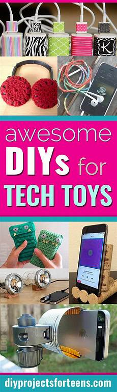 awesome diys for your tech toys