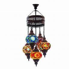 Moroccan Wall Lights Amazon Multicolour Turkish Moroccan Style Mosaic Hanging Lamp