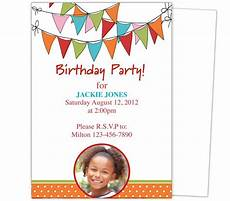 Toddler Birthday Invitation 23 Best Images About Kids Birthday Party Invitation