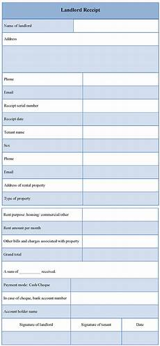 Landlord Templates Receipt Template For Landlord Example Of Landlord Receipt