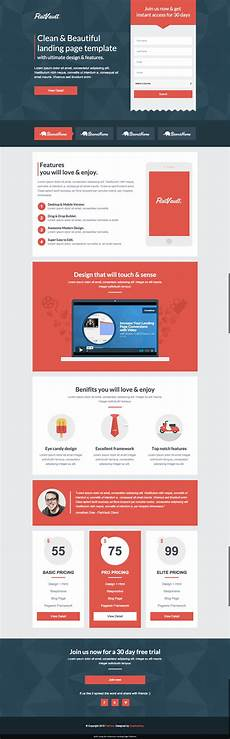 Video Landing Page Template 8 Mobile Friendly Landing Page Templates Designed With Love