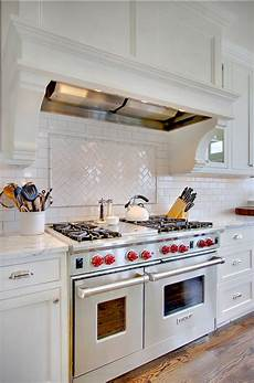 White Subway Tile Backsplash Transitional And Traditional Interior Design Ideas Home