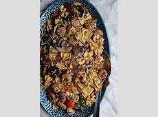 Italian Chicken Sausage, Mushroom & Tomato Pasta   Easy