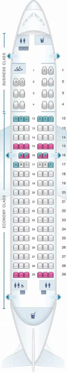 Airbus A319 100 Seating Chart Seat Map Air Canada Airbus A319 100 Seatmaestro