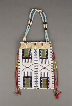 beadwork bag сумочка шайены 1900 гг вид 2