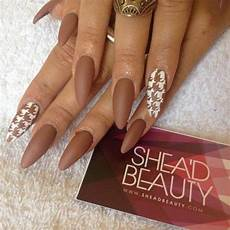 Light Brown Nail Color 50 Most Beautiful Brown Nail Art Ideas