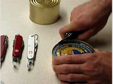 How to: Correctly to use Victorinox & Wenger Can Openers