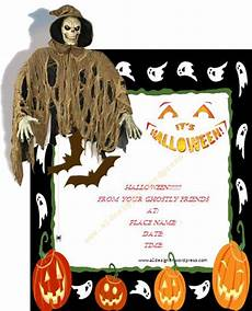 Word Halloween Templates Halloween Invitation Template Graphics And Templates