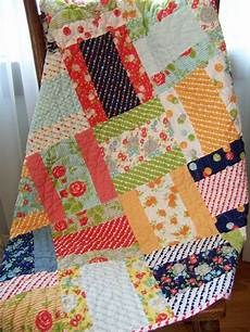 patchwork enfant happy go lucky baby toddler quilt bonnie camille
