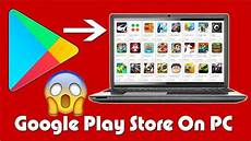 how to install android apps play store on pc