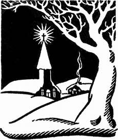 Black And White Christmas Graphics Retro Christmas Church Image The Graphics Fairy