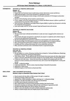 Writing Resumes Examples Technical Writer Resume Ipasphoto
