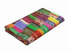 indian quilt vintage quilt patola indian silk sari