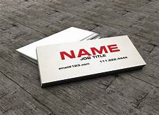 Examples Of Calling Card The Slim Business Card Calling Card Business Card