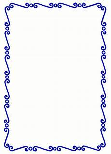 Free Blue Borders Blue Page Borders Clipart Best