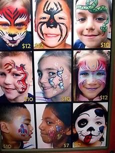 Face Painting Chart Face Painting Examples Flickr Photo Sharing