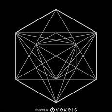 Geomtric Design Symmetrical Sacred Geometry Design Vector Download