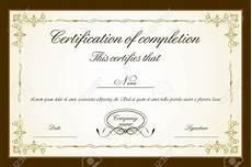 Design A Certificate Online Free Certificate Template Free Download Word
