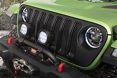 Jeep Grill With Lights New Wranglers Show Off Mopar Jeep Performance Parts