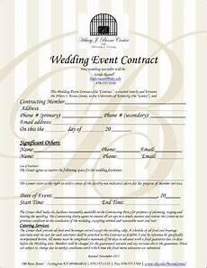 Wedding Planner Contract 6 Wedding Planner Contract Templates Free Amp Premium