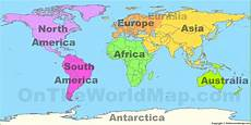 Continent World Map World Map With Continents