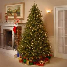 7 5 Foot Dual Light Christmas Tree National Tree Co Lakewood 7 5 Green Spruce Artificial
