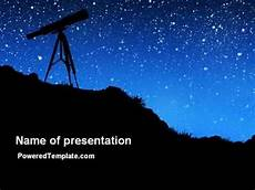 Stars Powerpoint Stars Observation Powerpoint Template By Poweredtemplate