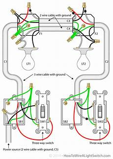 Two Switch Light Switch Electrical Expand On This Three Way Switch Diagram