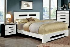 cm7292 modern king bedroom furniture white platform