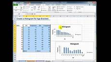 Histogram Excel How To Use The Histogram Tool In Excel Youtube