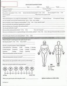 Physiotherapy Assessment Chart Evaluation Physical Therapy Evaluation Form Physical