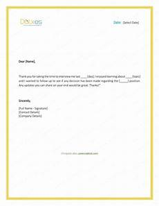 Follow Up Thank You Email 9 Interview Thank You Email Examples Pdf Examples