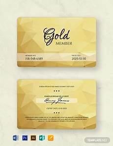Membership Card Template Publisher 10 Membership Cards In Illustrator Word Pages Psd