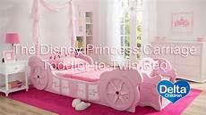 disney princess carriage toddler to bed